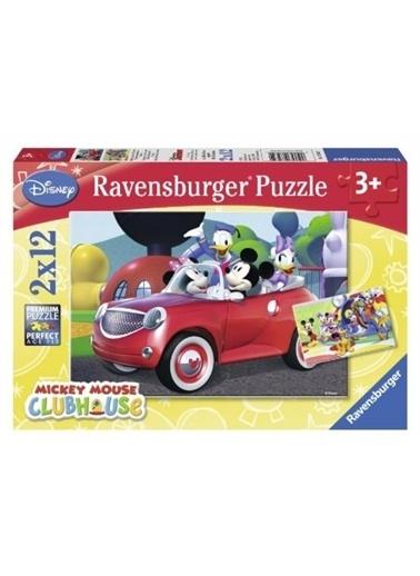 Ravensburger 2-12 Puzzle Mickey 075652 Renkli